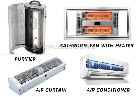electric fireplace fan noise aluminum blade tangential fan blower with heater for