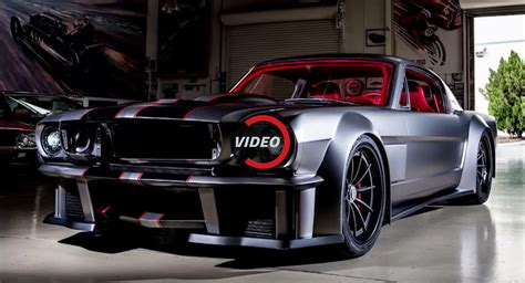 restomod mustang 1 000hp vicious 1965 mustang restomod is out of this world