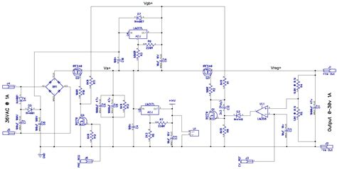 bench power supply circuit fully programmable modular bench power supply part 3
