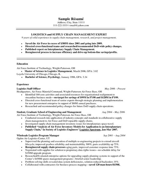 Sle Resume With Gpa by Trainee Project Manager Resume Sales Management Lewesmr