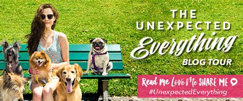 the unexpected everything the unexpected everything blog tour review guest post au giveaway happy indulgence