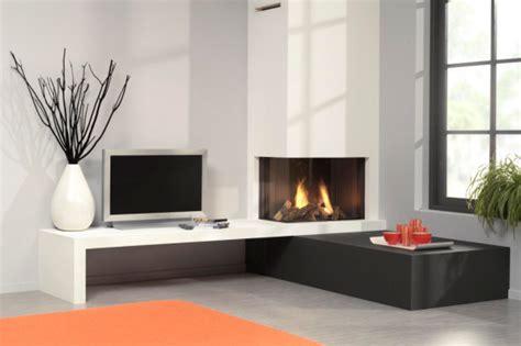 Modern Corner Fireplaces by Corner Gas Fireplace Livemodern Your Best Modern Home