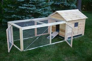 Chicken Hutch Design Hand Crafted Cedar Duck Hutch Chicken Coop By Lyons