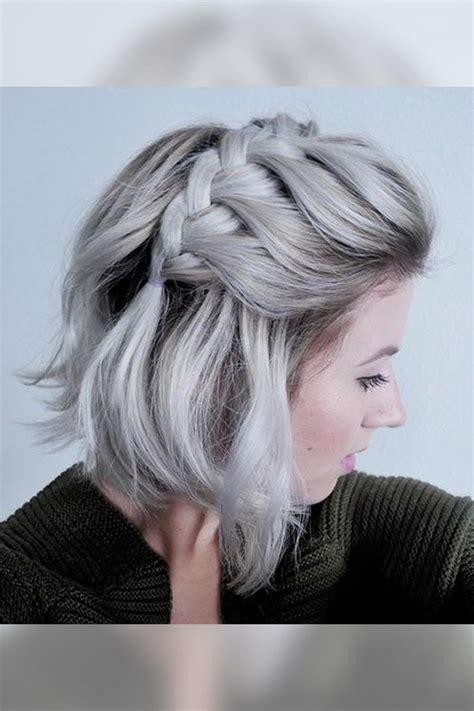 peinados para pelo corto con trenzas peinados con trenzas 17 propuestas que te encantar 225 n