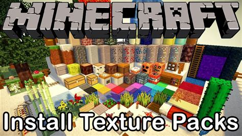how to install minecraft texture packs on a mac minecraft how to install texture packs resource packs