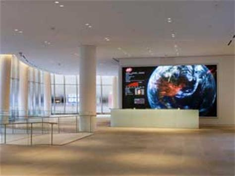 reception desk screen corporate lobbies the new landscape of digital signage