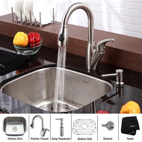 top 28 kitchen faucet placement kraus kbu11 kpf2121 22 best kitchen sinks images on pinterest undermount