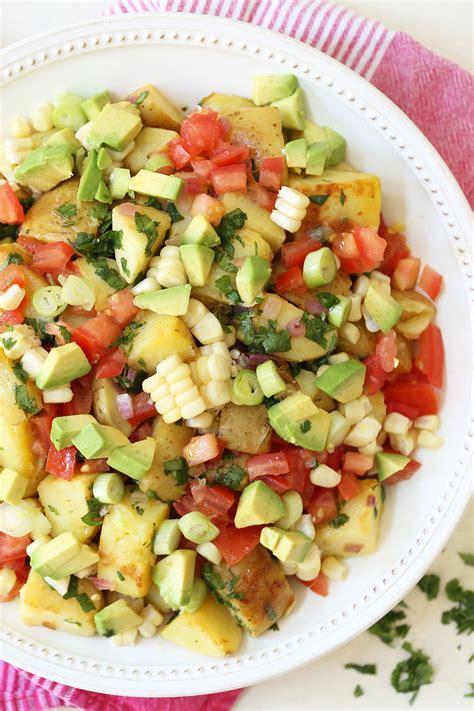 The Harvest Kitchen Crunchy Detox Salad by Mexican Potato Salad The Harvest Kitchen