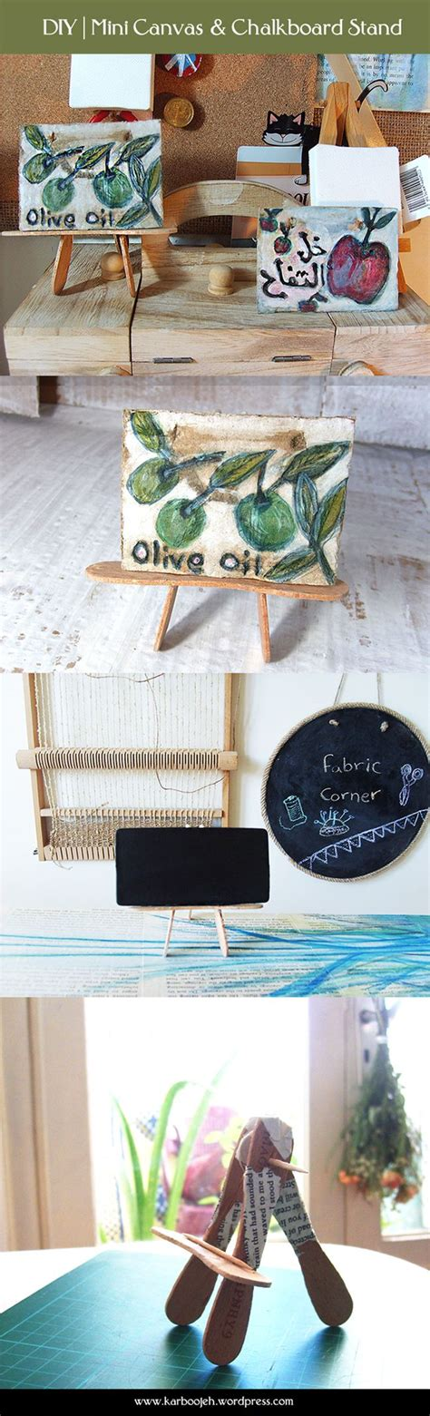 diy chalkboard stand diy chalkboard stand popsicles and minis