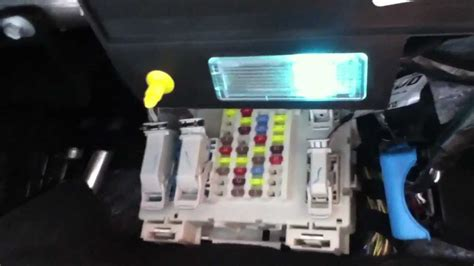 fuse box location in a 2013 ford focus
