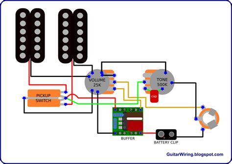 the guitar wiring diagrams and tips semi active