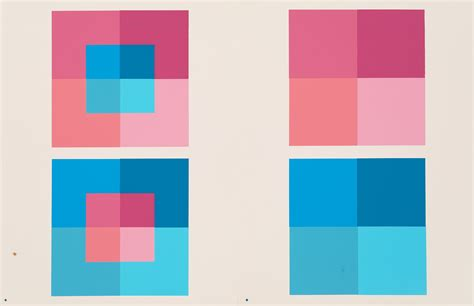 josef albers interaction of color thinking in colors on the revolutionary ideas of josef