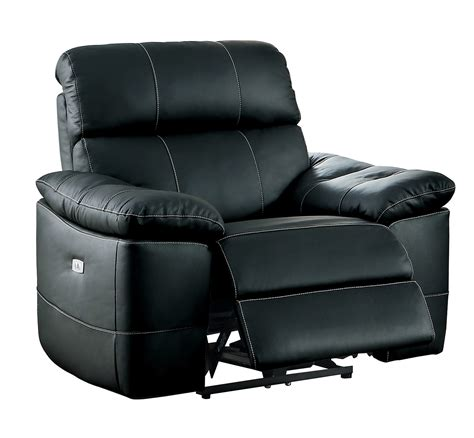 power reclining sofa set homelegance nicasio power reclining sofa set black