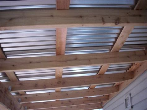 Corrugated patio cover   Deck Masters, llc   Patio covers