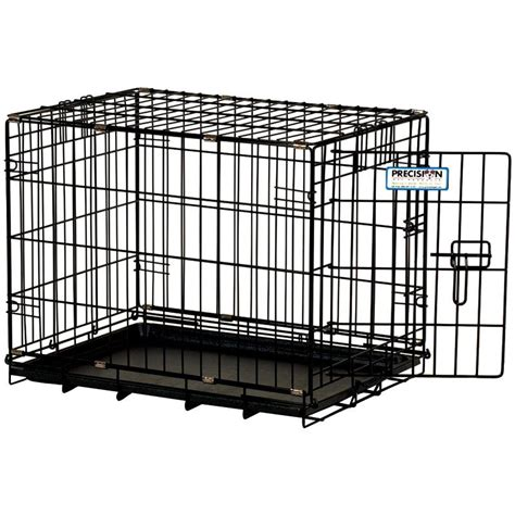 puppy crates precision pet precision pet pro valu great crate two door wire crates