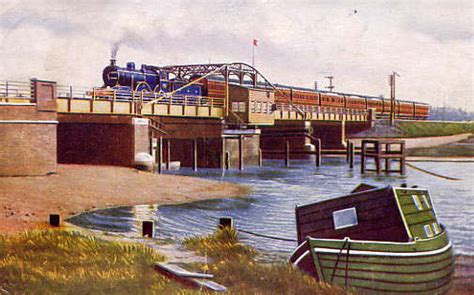 trowse swing bridge history picture gallery trowse org the trowse community