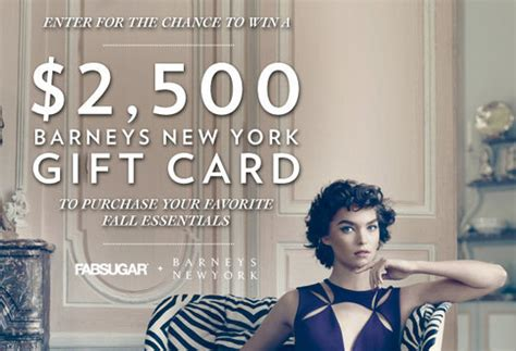 Barneys E Gift Card - enter to win a 2 500 barneys gift card popsugar fashion