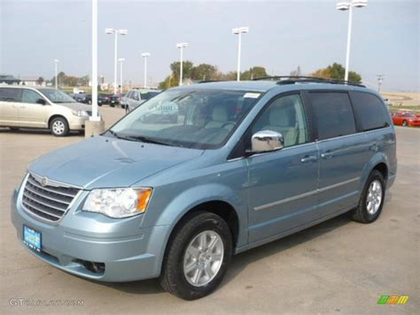 chrysler town and country colors 2010 clearwater blue pearl chrysler town country touring