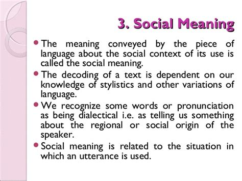 the meaning of semantics seven types of meaning