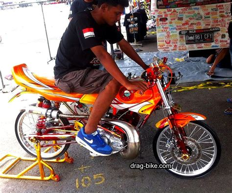 Modifikasi Rx King Drag Bike by 50 Foto Gambar Modifikasi Motor Rx King Drag Racing