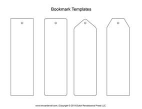 blank bookmark templates make your own bookmarks