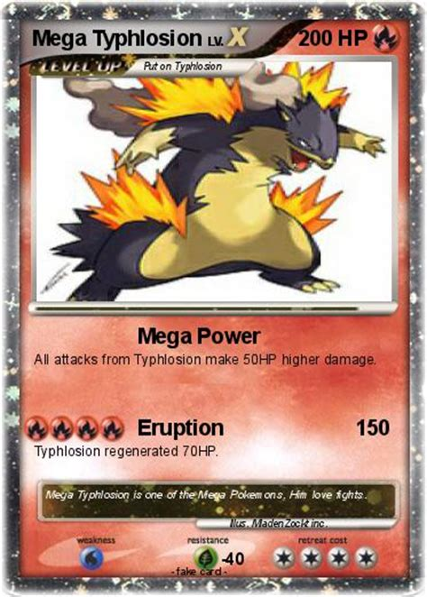 Card Typhlosion typhlosion card images images