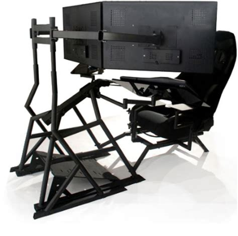 Ergonomic Computer Workstation R3volution Gaming Cockpit Ergonomic Gaming Desk