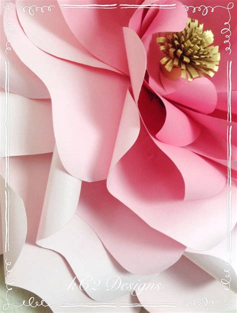 Flower Jumbo paper flower jumbo paper flowers paper flowers your colors w kc2designs by kerry