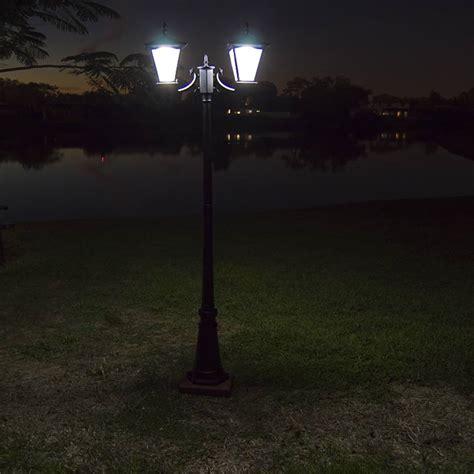 Driveway Lights Solar Pillar Column Mount Solar Lights By Free Light Galaxy
