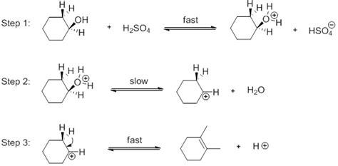hydration of cyclohexene to cyclohexanol lu le laboratory make cyclohexene dehydration of