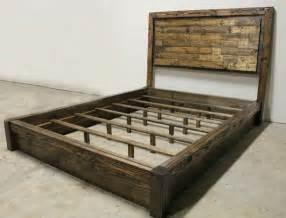 Diy Yamaguchi Platform Bed Frame Rustic Platform Bed Headboard By Jamesandjames On