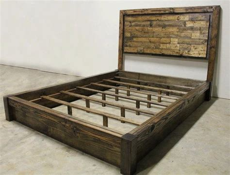 rustic queen bed pinterest discover and save creative ideas