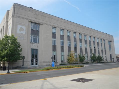 terre haute indiana post office court house former