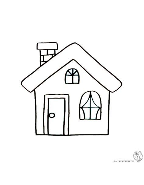 casa immagini disegni casa az colorare