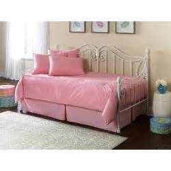 Value City Furniture Bedroom Set Southern Textiles Pink Daybed Ensemble 5pc Walmart Com