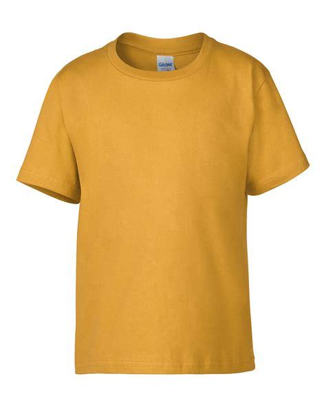 Kaos Soft Cotton Premium 76000b gildan premium cotton youth t shirt myshirt my