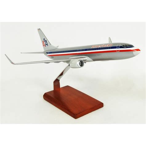 commercial model planes b737 800 american model aircraft 1 100 scale commercial