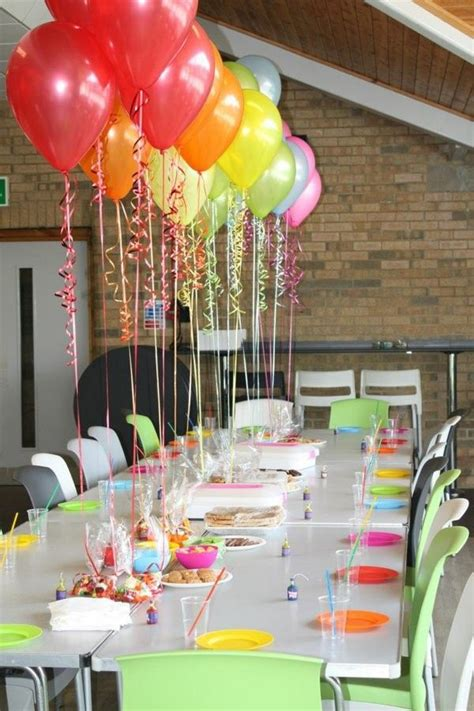table decoration ideas for birthday party 25 best ideas about birthday table decorations on