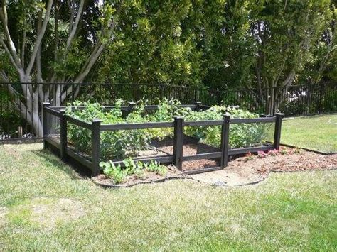 Cheap Garden Fencing Ideas Cheap Vegetable Garden Fence Ideas The Interior Design Inspiration Board