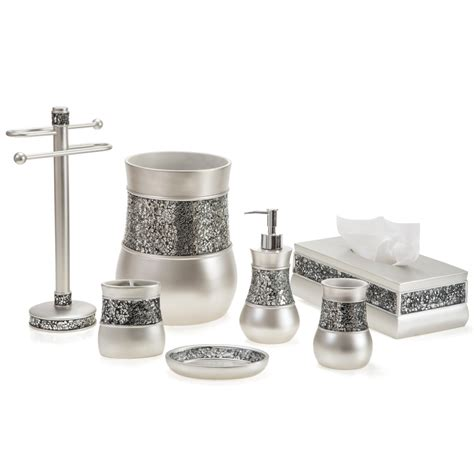 bathroom scents creative scents brushed nickel collection bath accessories