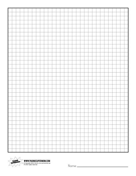 printable graph paper notebook printable graph paper graph paper supermom and crochet