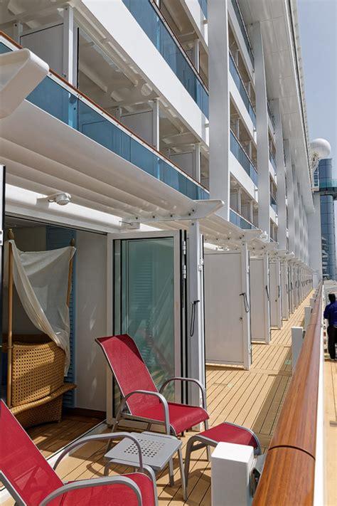 balkonkabine aida prima lanai kabine wintergarten und balkon am promendendeck