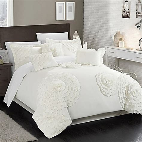 chic home beverley comforter set bed bath beyond