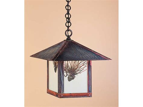 Arroyo Craftsman Evergreen Outdoor Pendant Ayeh16 Evergreen Outdoor Lighting