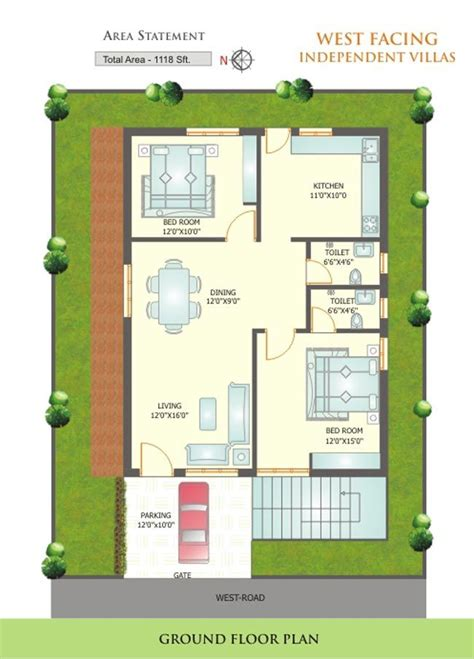 small house layout ideas west facing search