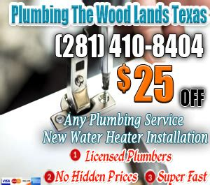 The Woodlands Plumbing by Plumbing The Woodlands For Speed Service As Well As Doing