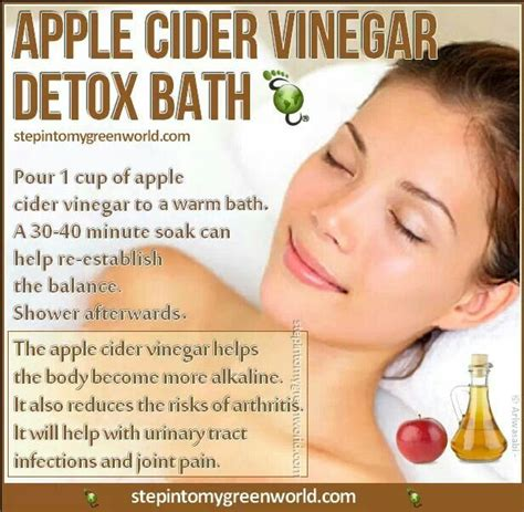 Detox Bath Reactions by Apple Cider Vinegar Detox Bath Health Home