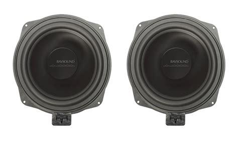 Speaker V8 Minime ghost bmw underseat subwoofer upgrades bavsound