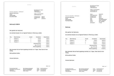 Rechnung Bezahlt Englisch Rechnungs Vordruck Englisch Rechnungs Vordruck Vorlage