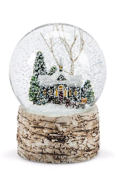 abbott collection winter snow globe from philadelphia by